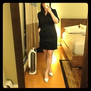Cotton black dress