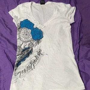 White Metal Mulisha T-shirt