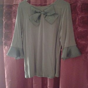 Gray Promenade Top from Dainty Jewells