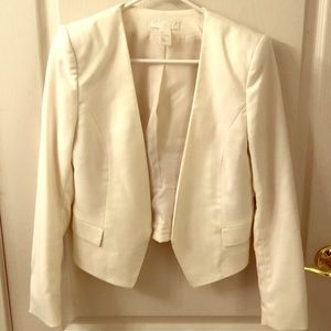 Off white blazer