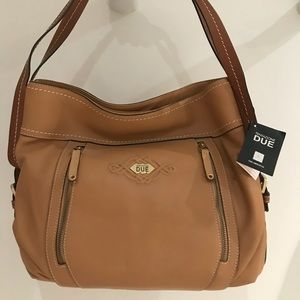 NWT Italian stunning Leather Hobo bag Retails $385