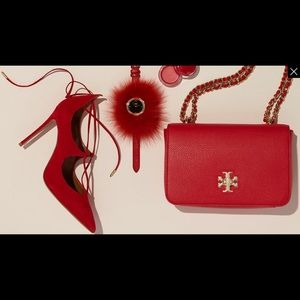 Tory Burch Red Crossbody bag