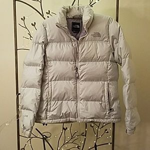 Off white North Face 700 Down Jacket
