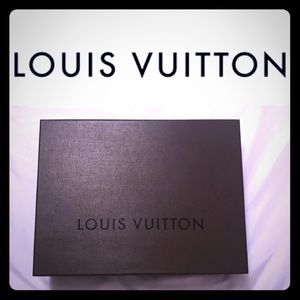 ✨Authentic Louis Vuitton BOX ONLY✨