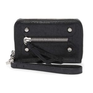 Botkier Logan Zip Wallet Black NWT Womens