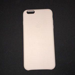 Apple pink iphone 6/6s plus case