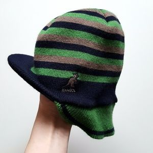 Navy/Green Men's Hat