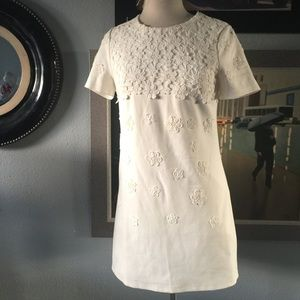FOREVER 21 CREME DRESS SZ medium