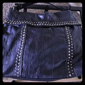 Deep Purple Studded Purse