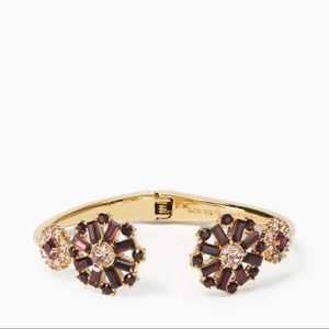 Kate Spade New York floral cuff