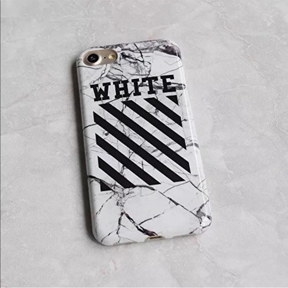 newest caf1a b508a OFF-White iPhone 6-8+ Soft Case Boutique