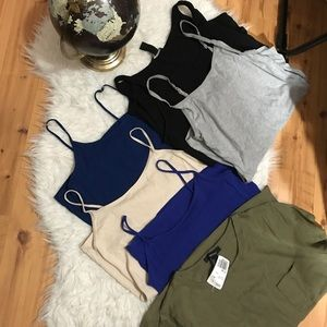 6 Piece Basic shirt bundle