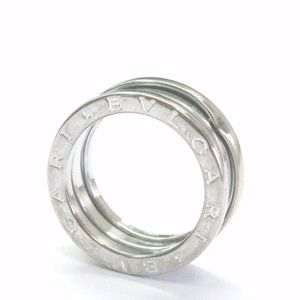 bulgari b zero 18kt wg 7mm white gold band ring sz size 52 bulgari
