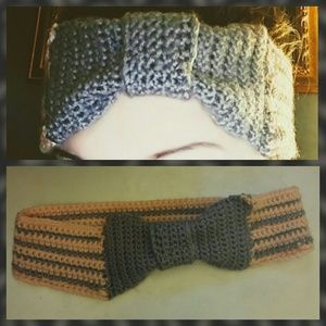 Crocheted headband - personalize it