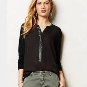 Anthropologie Farrah Henley by Sunday in Brooklyn
