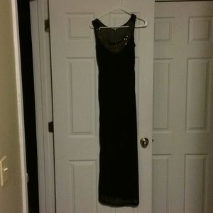 Maxi dress size small black