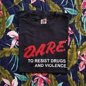 Vintage DARE Program Tee Shirt