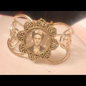 Frida silver bracelet
