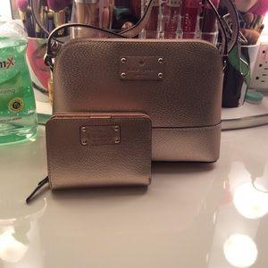 Kate Spade Matching Wallet and Bag Set
