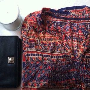 Anthropologie Bohemian Top Shirt XS