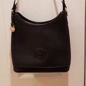 Dooney and Bourke All weather Black Leather Bag