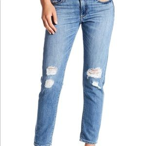LuckyBrand Sienna distressed cigarette Jeans