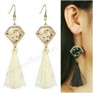 Trend of the Season - Dangling Tassel Earrings