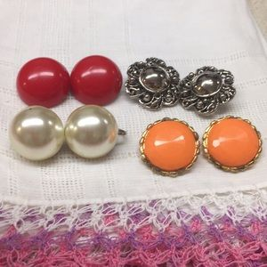 Vintage Clip Earring Bundle