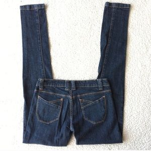 Blue Asphalt • Skinny Comfy Blue Jeans Size 3