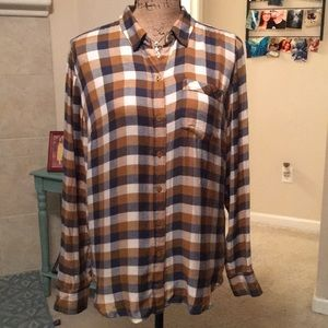 Lucky Brand Button Down Flannel