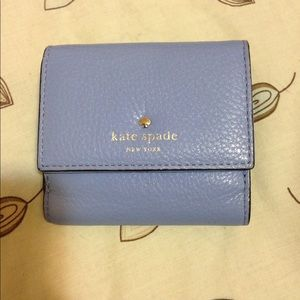 Kate Spade Periwinkle Cobble Hill Tavy Wallet!