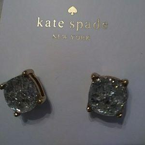 KATE SPADE CRYSTAL GALAXY GLITTER EARRINGS