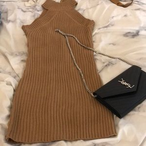 Thick sweater dress small