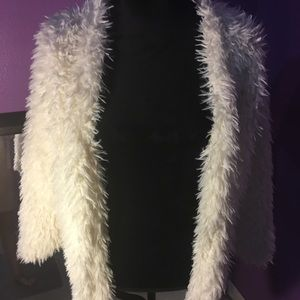 Fluffy fur-ish cardigan