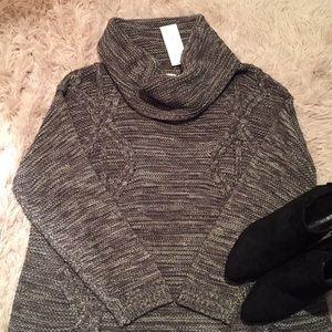 NWT! John Paul Richard - Olive Cowl Neck Sweater