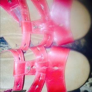 Clarks Slip On Sandals