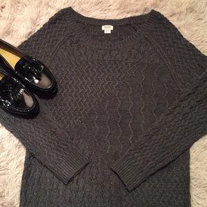 NWOT!  - MOSSIMO Gray Knit Sweater