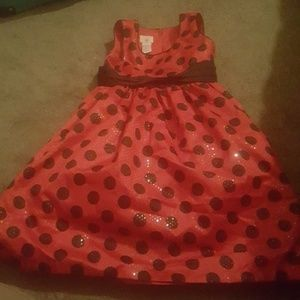 Other - Sz 8 girl's red and black dress