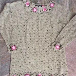 Handmade sweater by Noile Sz S