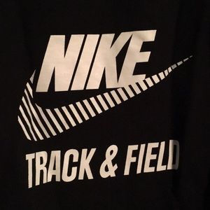 NIKE hi-low Track and Field Swearshirt, S.