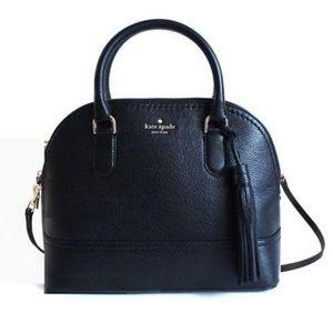 kate spade carli mccall street purse - Black