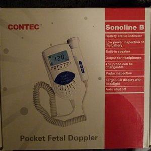 IN BOX- Pocket Fetal Doppler