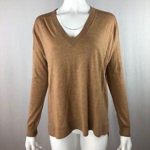 J. Crew Size XS Merino V-Neck Boyfriend Sweater