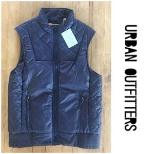 NWT!   Urban Outfitters dark navy vest.