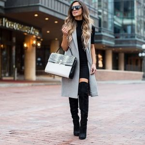 Nasty Gal Fold You So Over-the-Knee Boots