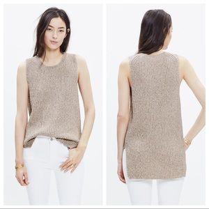 Madewell Sleeveless Tunic Sweater - Size XS