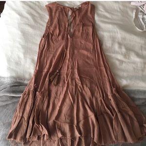 Mauve dress