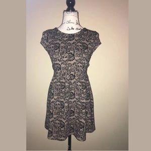 Forever 21 fit and flare dress size small