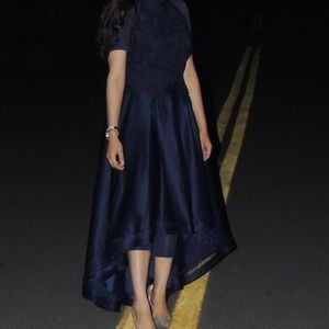 High-Low dress.