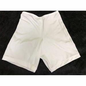 Style 999 Tummy Slim Shaper White Shorts Girdle XL